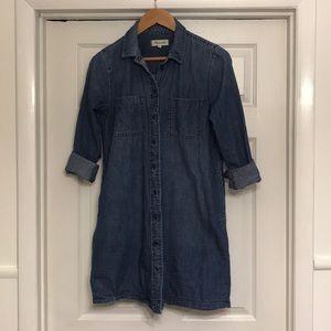 denim madewell dress